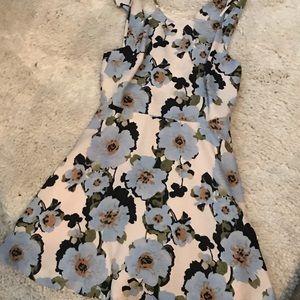 Spring florals cocktail dress